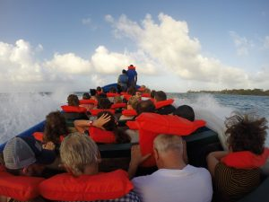 Panga Ride to Little Corn Island