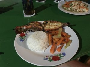 Lobster Tail Meal at Rosa'a